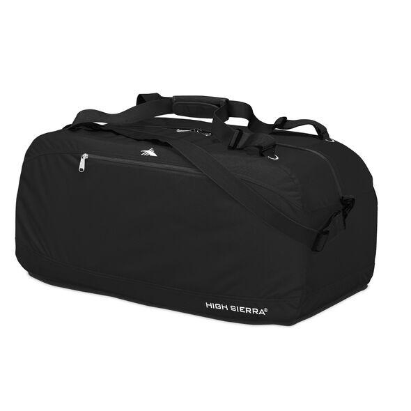 """High Sierra 36"""" Pack-N-Go Duffel in the color Black."""