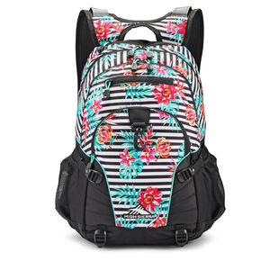 High Sierra Loop Backpack in the color Tropical Stripe/Black/Aquamarine.
