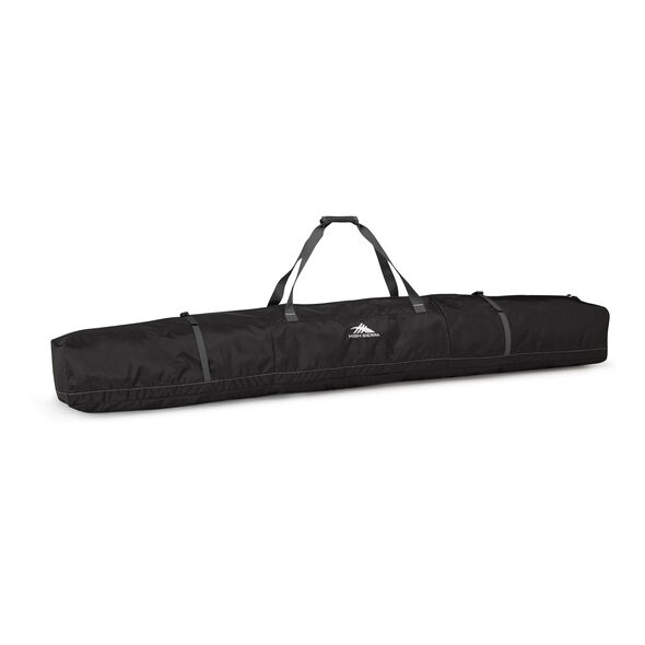 High Sierra Double Ski Bag in the color Black/Mercury.