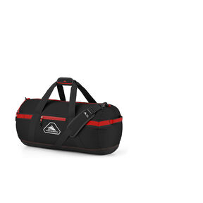 "High Sierra Packed Cargo Duffles 24"" Small Duffel in the color Black/Crimson Red."