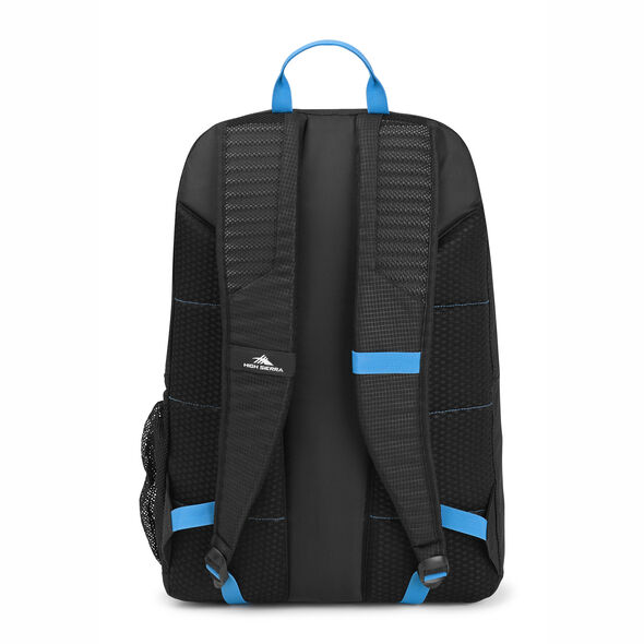 High Sierra Blaise Backpack in the color Black/Pool.
