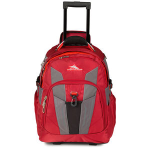 XBT Wheeled Daypack in the color Carmine/Redline/Black.