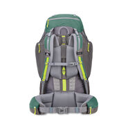 High Sierra Pathway 90L Pack in the color Pine/Slate/Chartreuse.