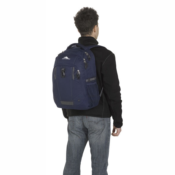 High Sierra Zestar Backpack in the color True Navy/Mercury.