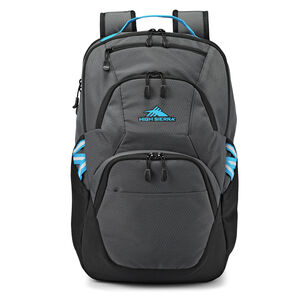 Swoop SG Backpack in the color Mercury/Black/Pool.