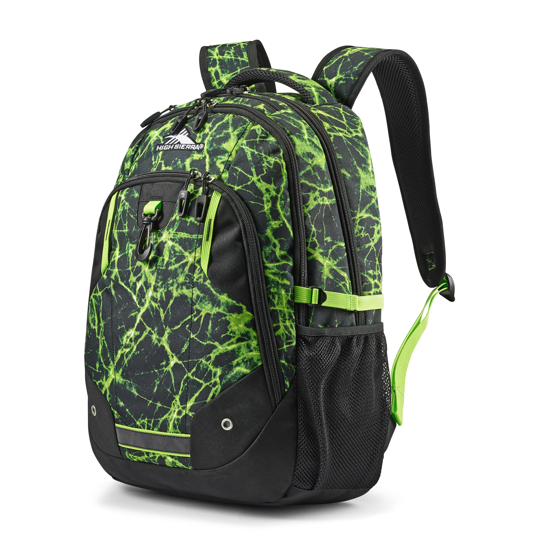 High Sierra Loop Backpack Lime Fire//Black//Lime