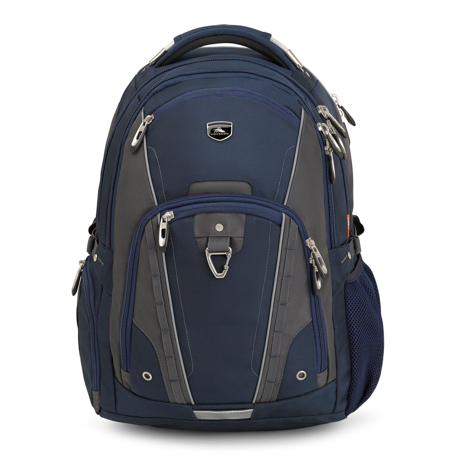 a812e8ebd3 High Sierra Vuna Business Pack in the color True Navy Mercury.