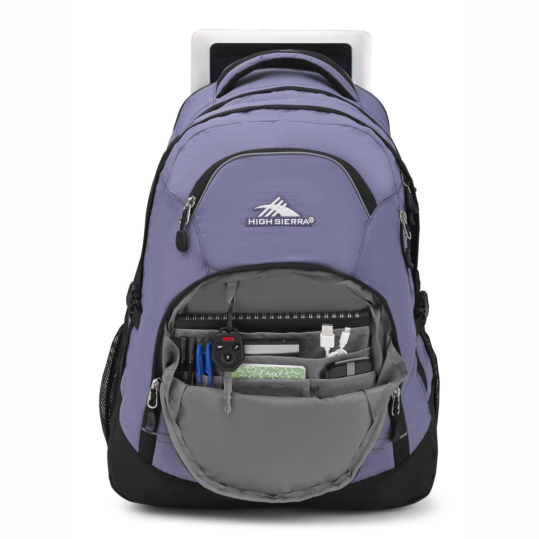 48a41c8e5 High Sierra Access 2.0 in the color Purple Smoke/Black.