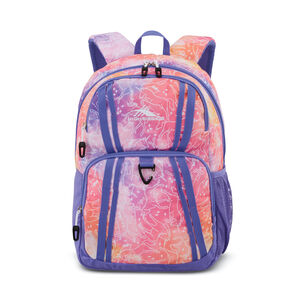 Wilder 2.0 Backpack in the color Unicorn Clouds/Lavender/White.