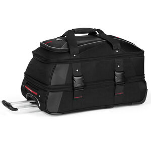 """AT7 26"""" Wheeled Duffel in the color Black."""
