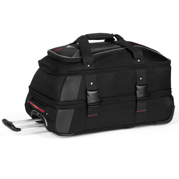 "High Sierra AT7 26"" Wheeled Duffel in the color Black."