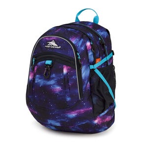 High Sierra Fatboy Backpack in the color Cosmos/Midnight Blue/Tropic Teal.