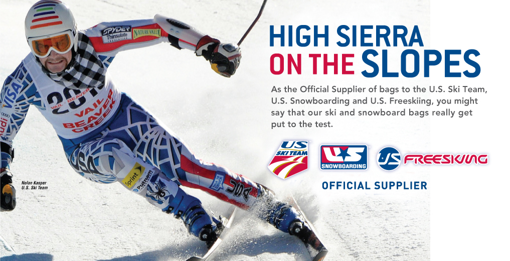 High Sierra is proud to sponsor these amazing athletes