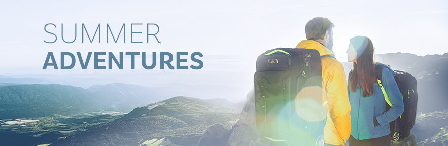 Summer Adventure Travel Luggage