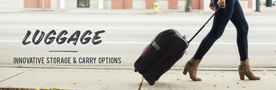 Innovative Storage and Carry Options. Shop High Sierra Luggage Now!